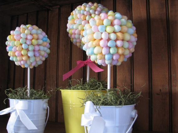 Outdoor Easter Decorations – 60 Ideas For A Special Holiday_2