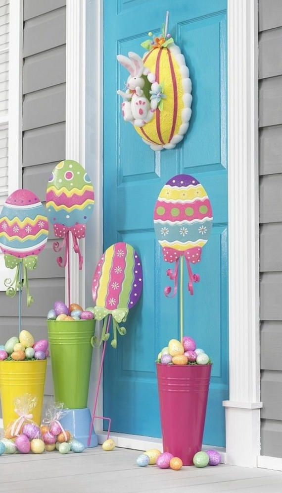 Outdoor Easter Decorations – 60 Ideas For A Special Holiday_4