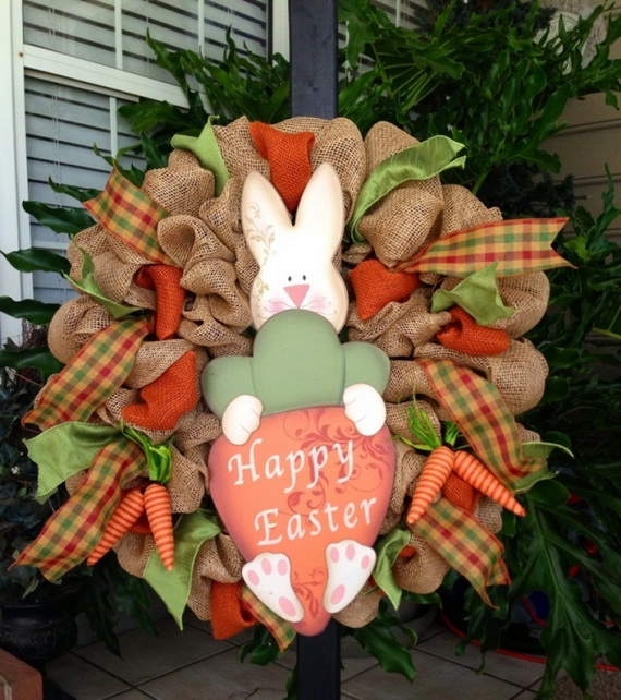 Outdoor Easter Decorations – 60 Ideas For A Special Holiday_5