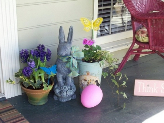 Outdoor Easter Decorations – 60 Ideas For A Special Holiday_9
