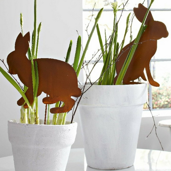 Simple And Attractive Easter and Spring Craft Ideas To Brighten Any Home_01