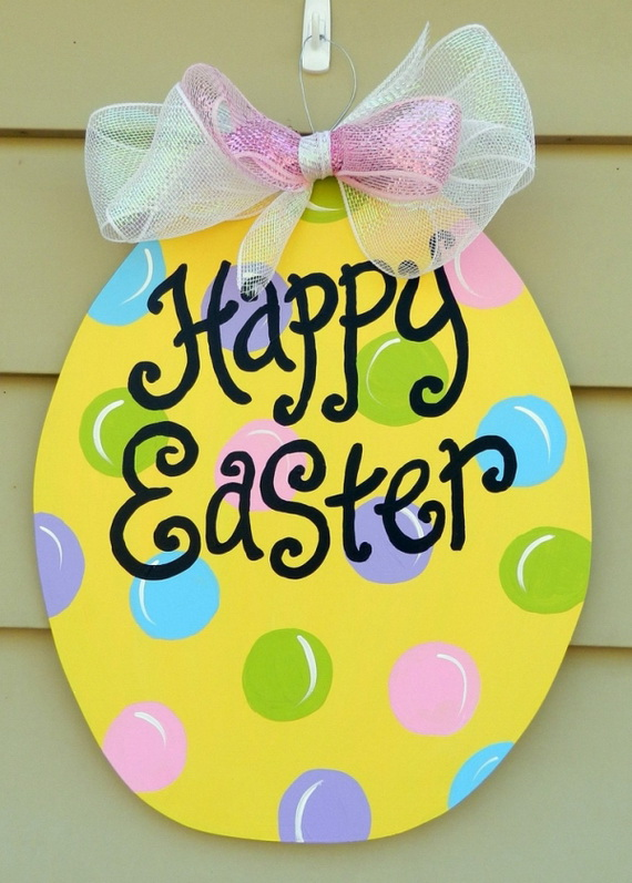 Simple And Attractive Easter and Spring Craft Ideas To Brighten Any Home_3