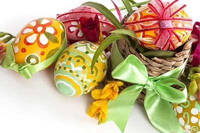 The Trendy Colors Of Easter – Easter Decoration In Pastel Colors