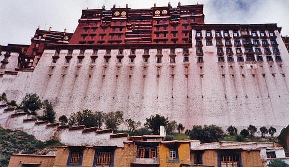 World Heritage Sites; Potala Palace at Lhasa, Tibet, China (12)