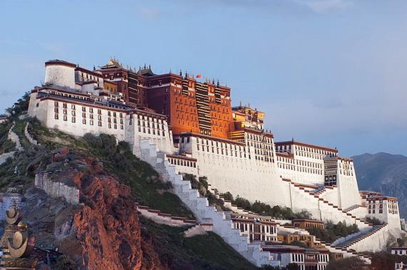 World Heritage Sites; Potala Palace at Lhasa, Tibet, China (15)