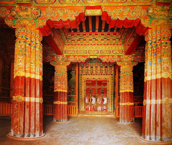 World Heritage Sites; Potala Palace at Lhasa, Tibet, China_02