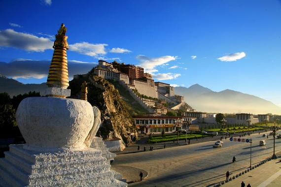 World Heritage Sites; Potala Palace at Lhasa, Tibet, China_08