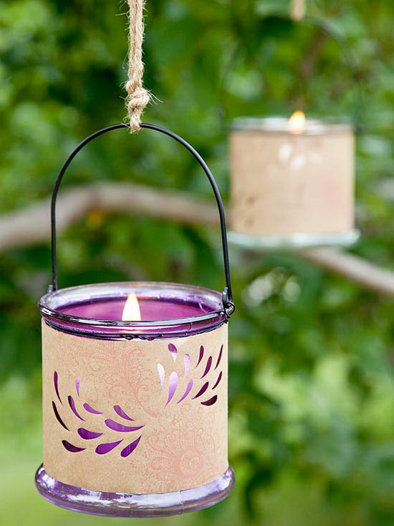 55 Easy and Creative Decorating Ideas For Candle Holders_22