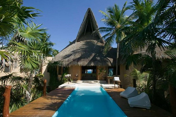 Casa Nalum A Stunning Caribbean Villa For A Mexican Style Holiday  (12)