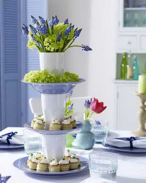 Fr?hlingstisch Etagere & 45 Elegant Table Settings Ideas for All Occasions - family holiday ...