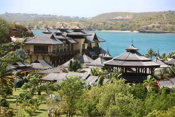 The Most Expensive Holiday Resort Calivigny Island - Caribbean _33