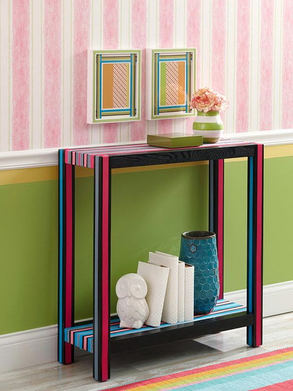 Decorating Interior Apartments With Fabric & Paper Projects_04