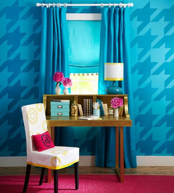 Decorating Interior Apartments With Fabric & Paper Projects_20