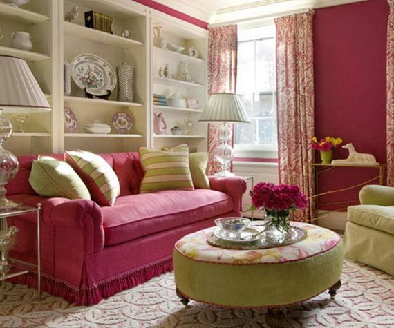 Decorating Interior Apartments With Fabric & Paper Projects_30