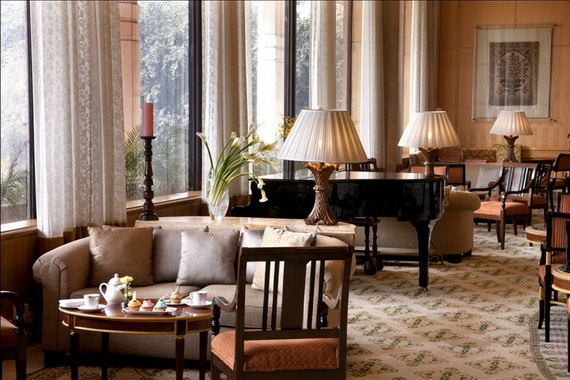 A Luxury Old World Charm in Center New Delhi Taj Mahal Hotel _04