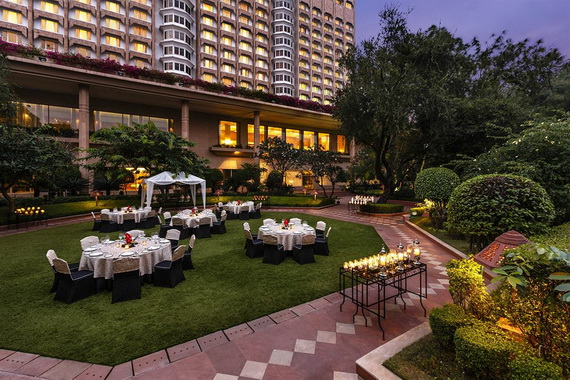 A Luxury Old World Charm in Center New Delhi Taj Mahal Hotel _47