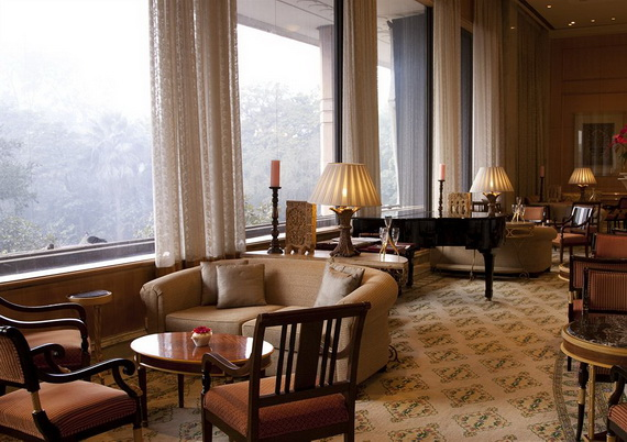 A Luxury Old World Charm in Center New Delhi Taj Mahal Hotel _54