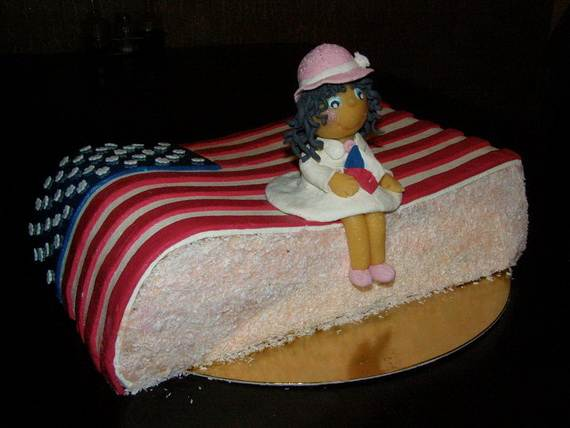 Adorable 4th of July Cake  Designs Ideas (13)