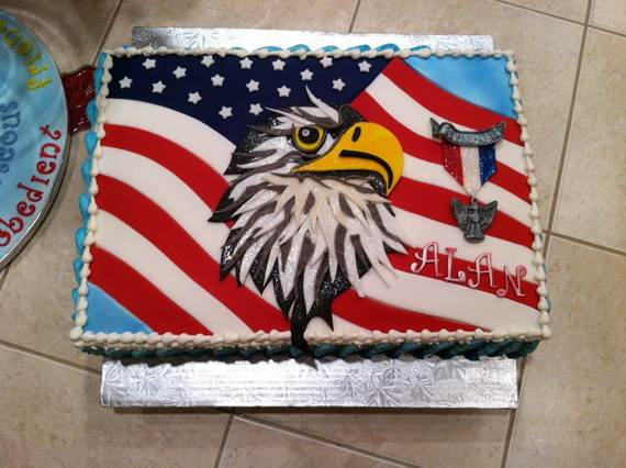 Adorable 4th of July Cake  Designs Ideas (14)
