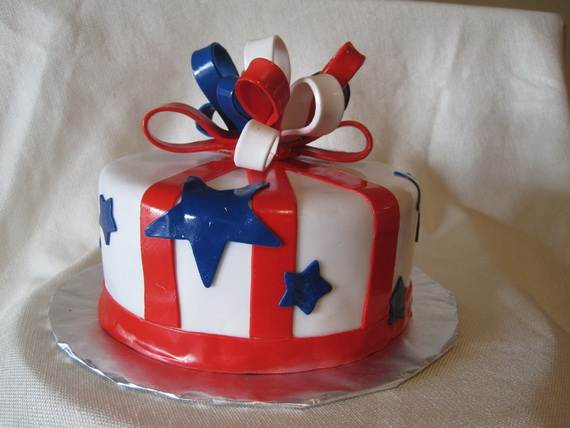 Adorable 4th of July Cake  Designs Ideas (16)
