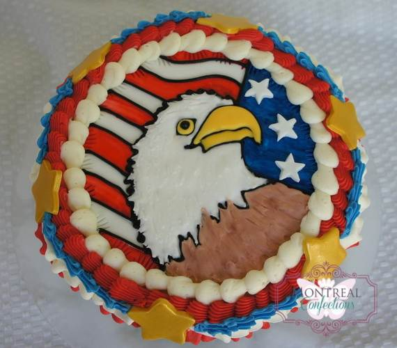 Adorable 4th of July Cake  Designs Ideas (18)