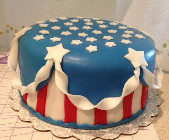 Adorable 4th of July Cake  Designs Ideas (19)