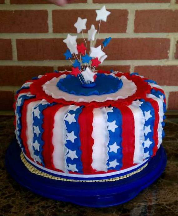 Adorable 4th of July Cake  Designs Ideas (29)