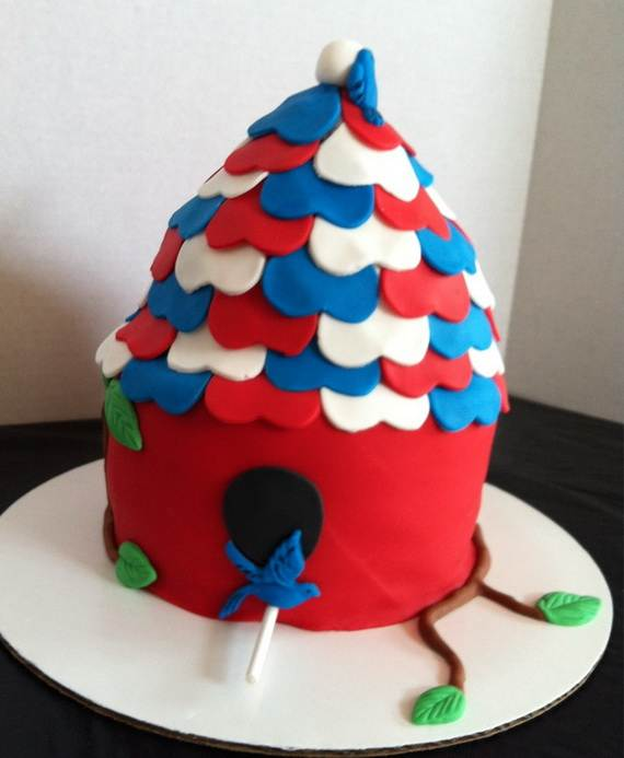 Adorable 4th of July Cake  Designs Ideas (31)