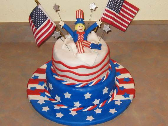 Adorable 4th of July Cake  Designs Ideas (41)