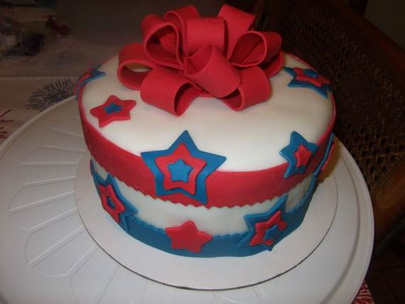 Adorable 4th of July Cake  Designs Ideas (43)