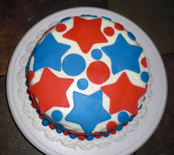 Adorable 4th of July Cake  Designs Ideas (44)