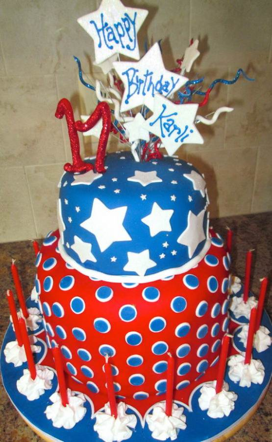 Adorable 4th of July Cake  Designs Ideas (46)