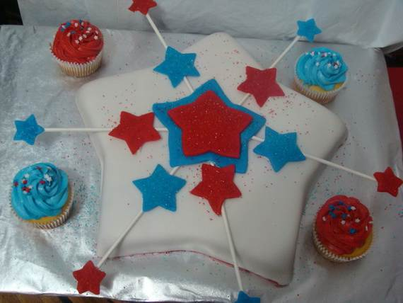Adorable 4th of July Cake  Designs Ideas (48)