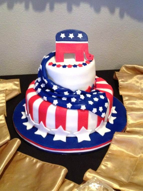 Adorable 4th of July Cake  Designs Ideas (49)