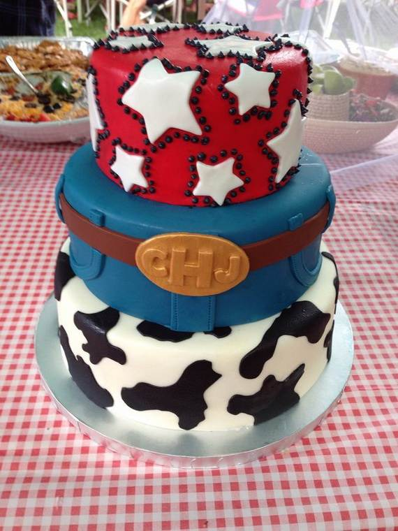 Adorable 4th of July Cake  Designs Ideas (50)