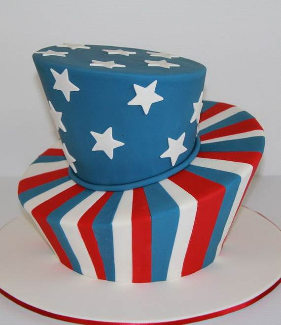 Adorable 4th of July Cake  Designs Ideas (57)