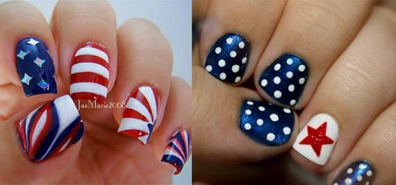 Amazing Patriotic Nail Art Designs Ideas_03
