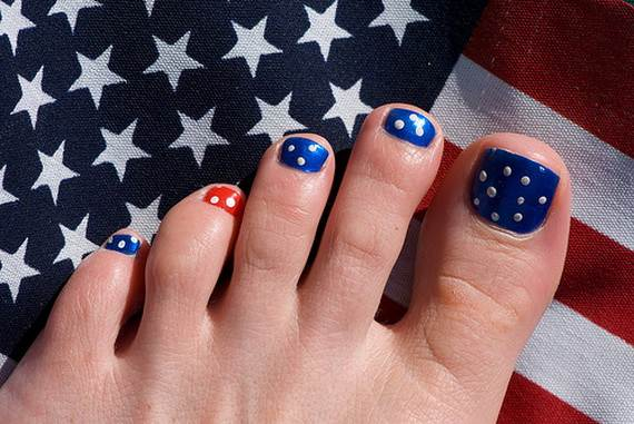 Amazing-Patriotic-Nail-Art-Designs-Ideas_06 - 40 Amazing Patriotic Nail Art Designs & Ideas For The 4th Of July On