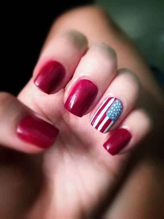 40 amazing patriotic nail art designs ideas for the 4th of july amazing patriotic nail art designs ideas07 prinsesfo Gallery