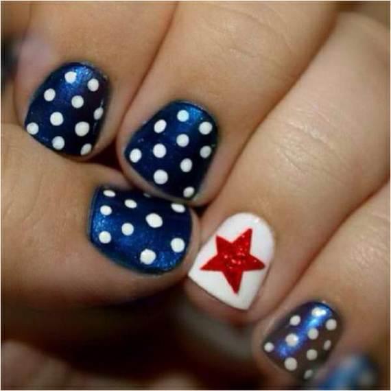 40 amazing patriotic nail art designs ideas for the 4th of july amazing patriotic nail art designs ideas12 prinsesfo Images