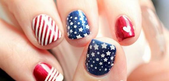40 amazing patriotic nail art designs ideas for the 4th of july amazing patriotic nail art designs ideas14 prinsesfo Gallery