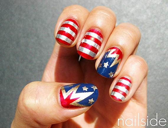 40 amazing patriotic nail art designs ideas for the 4th of july amazing patriotic nail art designs ideas24 prinsesfo Choice Image