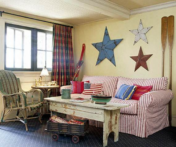 A Guide To Using Pinterest For Home Decor Ideas: 50 Independence Day Decorating Ideas To Celebrate A