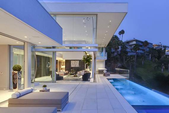 Luxury Mansion In Hollywood, Oriole Way By McClean Design in Hollywood_10