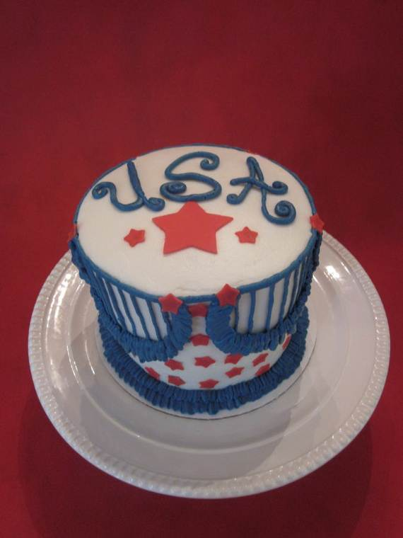 Spectacular Red, Blue, and White Cupcake Decorating Ideas (7)