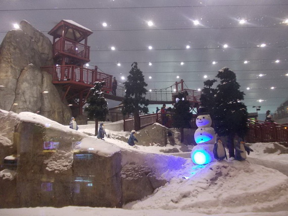 Unbelievable Family Holiday in Dubai (Ski Dubai)_4