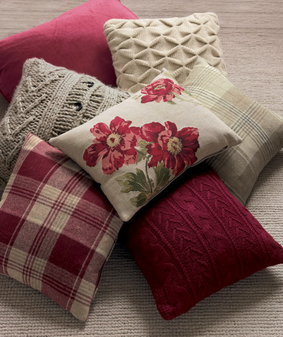 Beautiful Cushions By Laura Ashley For A Warm And Personal
