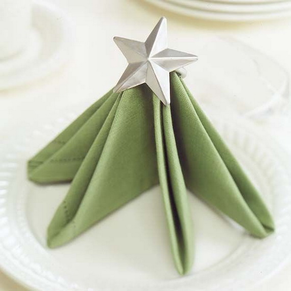 Creative Napkin Folds for Your Holiday Table (14)