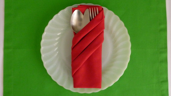 Creative Napkin Folds for Your Holiday Table (25)