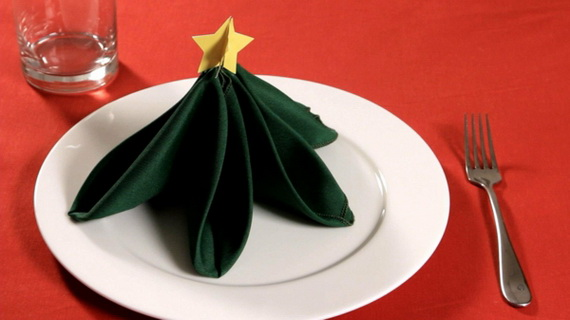 Creative Napkin Folds for Your Holiday Table (36)